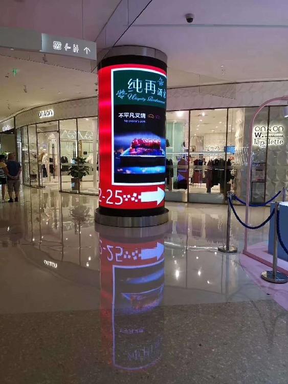 上飞阳高清防雨显示屏,金平区销售LED圆柱、魔方显示屏售后保障