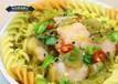 平谷巧膠東手打蝦滑電話,撈汁小海鮮