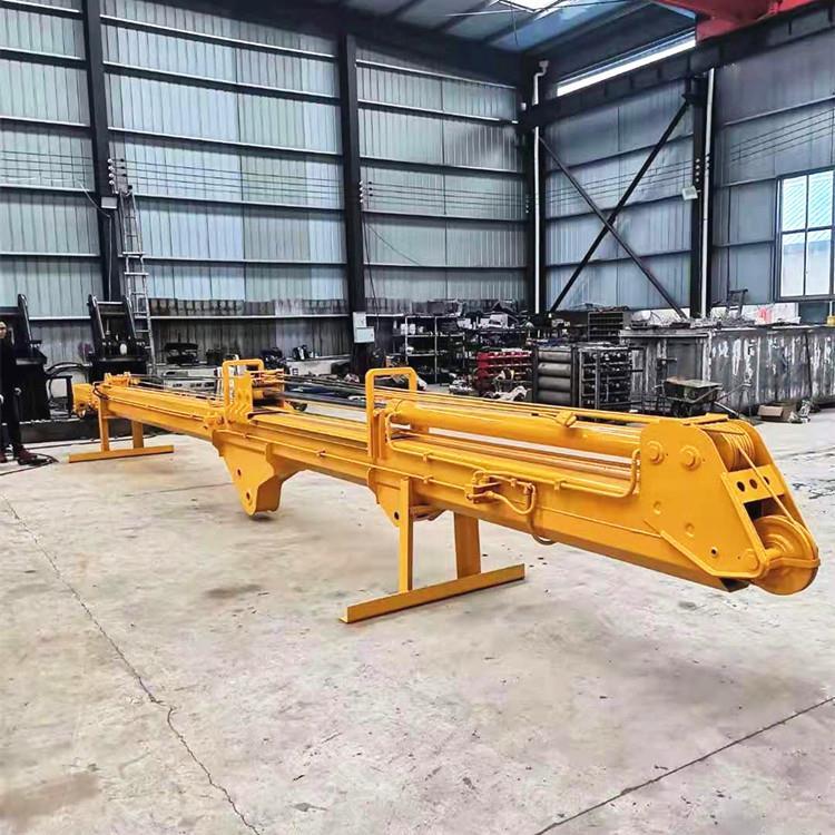 挖机伸缩臂抓木机山林拉山机厂家定制履带式抓木机
