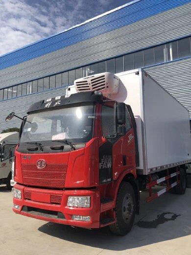 商丘生产解放冷藏车性能可靠,解放9.6冷藏车
