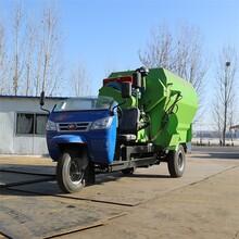 承接養殖投料車批發代理,攪拌一體撒料車圖片