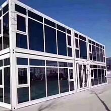 銷售集裝箱彩鋼房-彩鋼板房,鄂爾多斯集裝箱板房圖片
