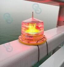 建航航道浮標燈,海南海口碼頭航標燈圖片