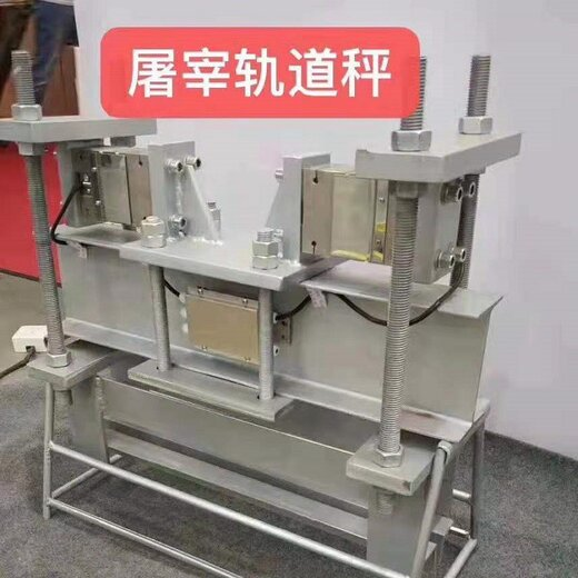 重慶制造精科軌道電子秤安裝好付款,肉聯廠軌道電子秤