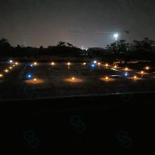 吉林消防停机坪泛光照明灯2.5米风向标304不锈钢图片
