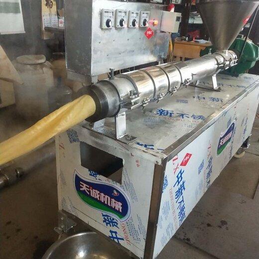 平頂山自熟豆皮機安全可靠,大豆蛋白機