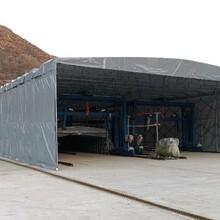 工廠伸縮雨棚雨篷本地廠商圖片