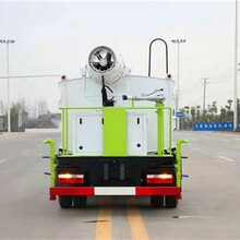 孝感電動抑塵霧炮車量大從優,多功能抑塵車圖片
