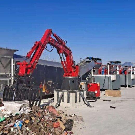 南京城市垃圾轉運機械手廠家