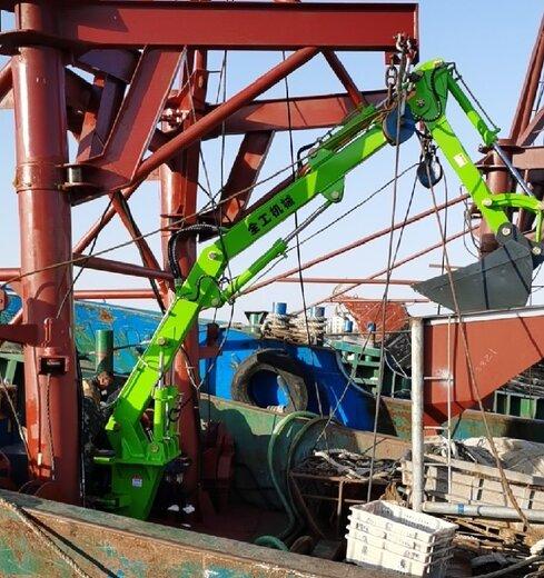 晉城船用電動機械臂,船用固定式液壓機械臂
