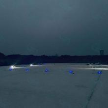 成都建航停机坪中心灯嵌入式瞄准点灯厂家直销,机场道边灯图片