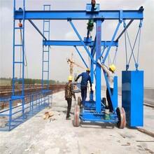橋梁護欄模板拆裝臺車河南厚榮橋梁機械設備圖片