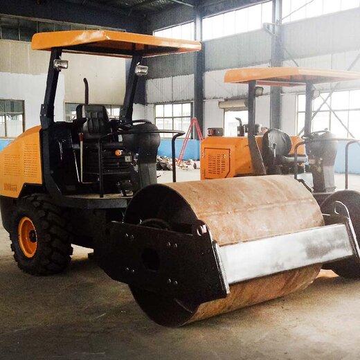 慶安機械壓土機,景德鎮6噸壓路機