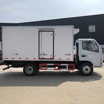 4米2東風冷藏車、海鮮冷藏運輸車