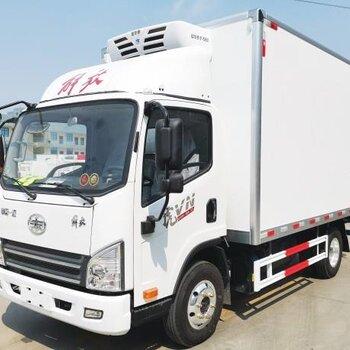 湖北廠家銷售4米2解放冷藏車海鮮冷鏈運輸車