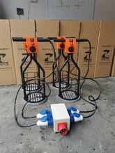 山東凌智HD5非固化加熱器三個一組每小時熔化10桶,非固化恒溫加熱器圖片
