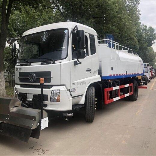 東風12噸抑塵車廠家,多功能灑水車