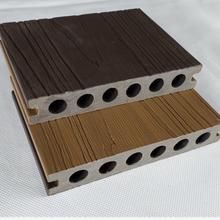 福建14025圓孔塑木地板性能可靠,塑木地板圖片