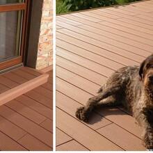 欽州14025圓孔塑木地板安全可靠圖片