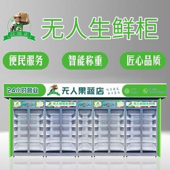 永州生鲜柜规格,社区无人果蔬售卖机