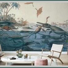河東走廊背景墻品種繁多,中式走廊背景墻圖片