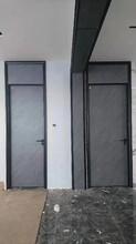 嘉興鋁木門,極簡門圖片
