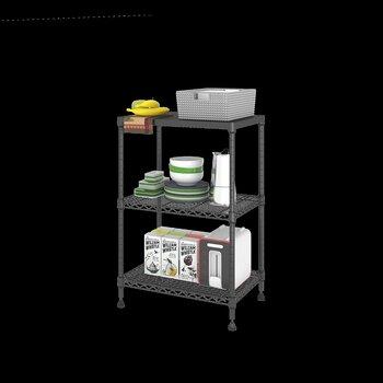 美之高廚用架置地式廚房收納架隨心搭配家用三層臥室客廳置物架