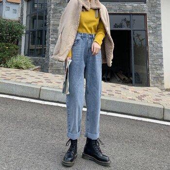 牛仔裤夏季牛仔裤女士牛仔裤宽松版牛仔裤批发牛仔裤