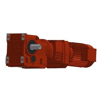 廠家供應螺旋錐減速機KAT167/kaT167轉臂式減速機