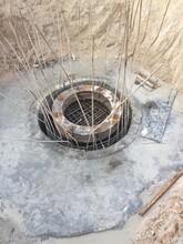 寧夏中衛海原縣中德新亞鋼管混凝土,無收縮鋼管混凝土圖片
