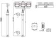 優質移動電站電網升降照明燈81000W,方艙升降照明燈