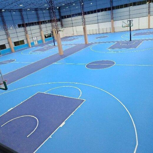 花都硅PU硅PU篮球场施工