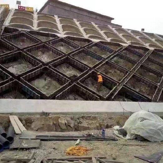 水泥預制護坡模具,現澆拱形護坡模具