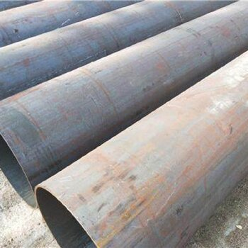 漢坤鋼管注漿管,大口徑厚壁卷管直縫焊管服務周到