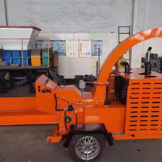 吉林生產木材粉碎機多少錢,鼓式削片機