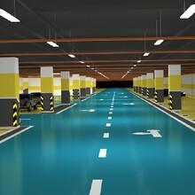 湖南停車場環氧地坪漆工程圖片