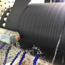 北海HDPEHDPE双密封自锁承插接口聚乙烯环绕纠缠管,拉顶管图片