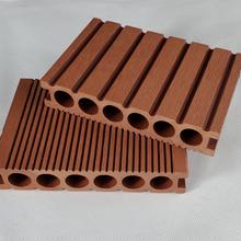 明太塑木地板廠家,湖南14025圓孔塑木地板質量可靠圖片