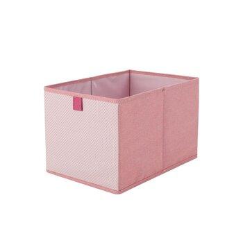 棉麻收納盒桌面棉麻雜物盒儲物籃框收納盒布藝收納籃整理筐收納框儲物筐家用