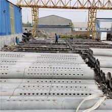 外徑400mm無砂水泥管-大口徑無砂降水管-500mm無砂管價格圖片