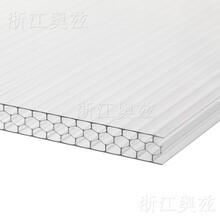 奧茲米字型pc板,成都米字形陽光板50微米uv涂層圖片