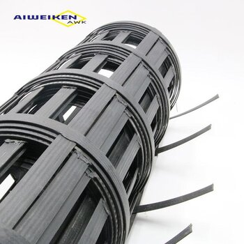 鋼塑土工格柵玻纖土工格柵天津艾維肯玻璃纖維土工格柵