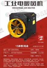 三工燃油暖風機廠家,山東濟寧電暖燃油暖柴油暖風機熱風炮圖片
