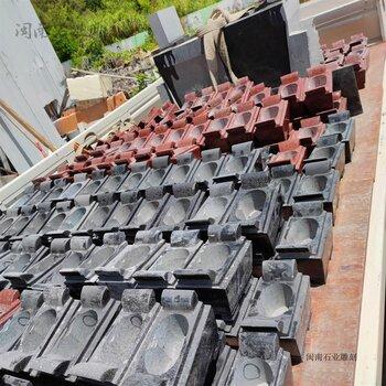 厂家定制长方形石雕香炉各类石雕香炉芝麻黑香炉