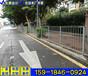 茂名市政交通護欄河源京式鋅鋼護欄街口鎮鐵路橋人行道欄桿
