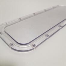 常州PC板加工電氣柜視窗透明PC擋板防護罩圖片