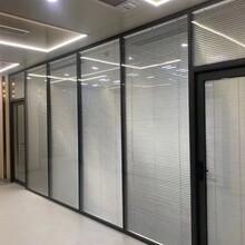 惠州雙層玻璃百葉隔斷廠家圖片
