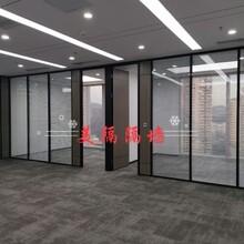 南山辦公室高隔斷,成品百葉高隔間圖片