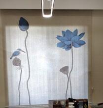 大连办公室窗帘的款式图片