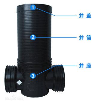 寶雞塑料檢查井廠家雨水污水檢查井規格價格優惠